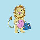 Baby Lion Traveler by SaylorDoone