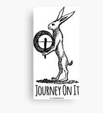 journey on it shamanic t-shirt Canvas Print