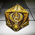 D8 dragon dice by Stanley Morrison