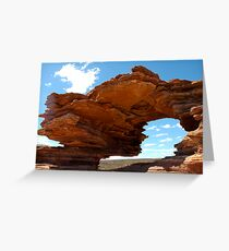 natures window Greeting Card