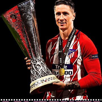 Sport Atletico Madrid Fernando Torres Spain Champions Shirt by Tropicalis