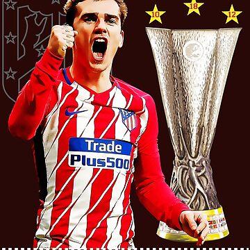 Atletico Madrid Antoine Griezmann Campeones Europa de Tropicalis