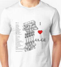 4A-GE Love T-Shirt