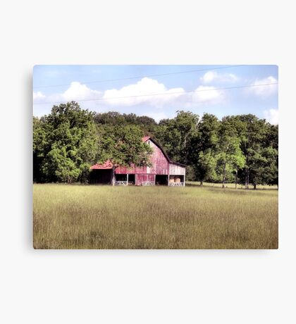 """'My Home away from Home',said the Farmer""... prints and products Canvas Print"