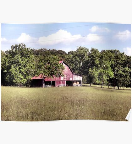 """""""'My Home away from Home',said the Farmer""""... prints and products Poster"""