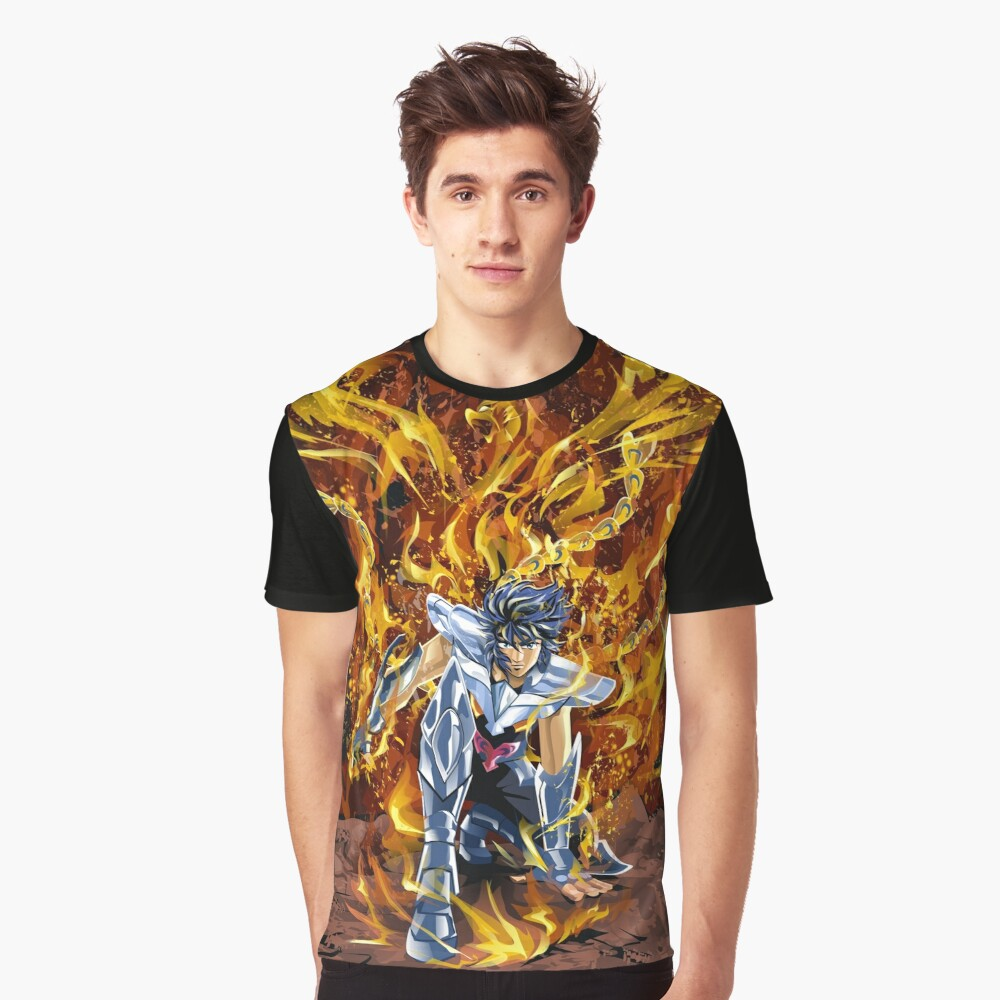 The Rise of Ikki The Phoenix Graphic T-Shirt Front