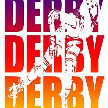 Roller Derby  by CrazyWebs