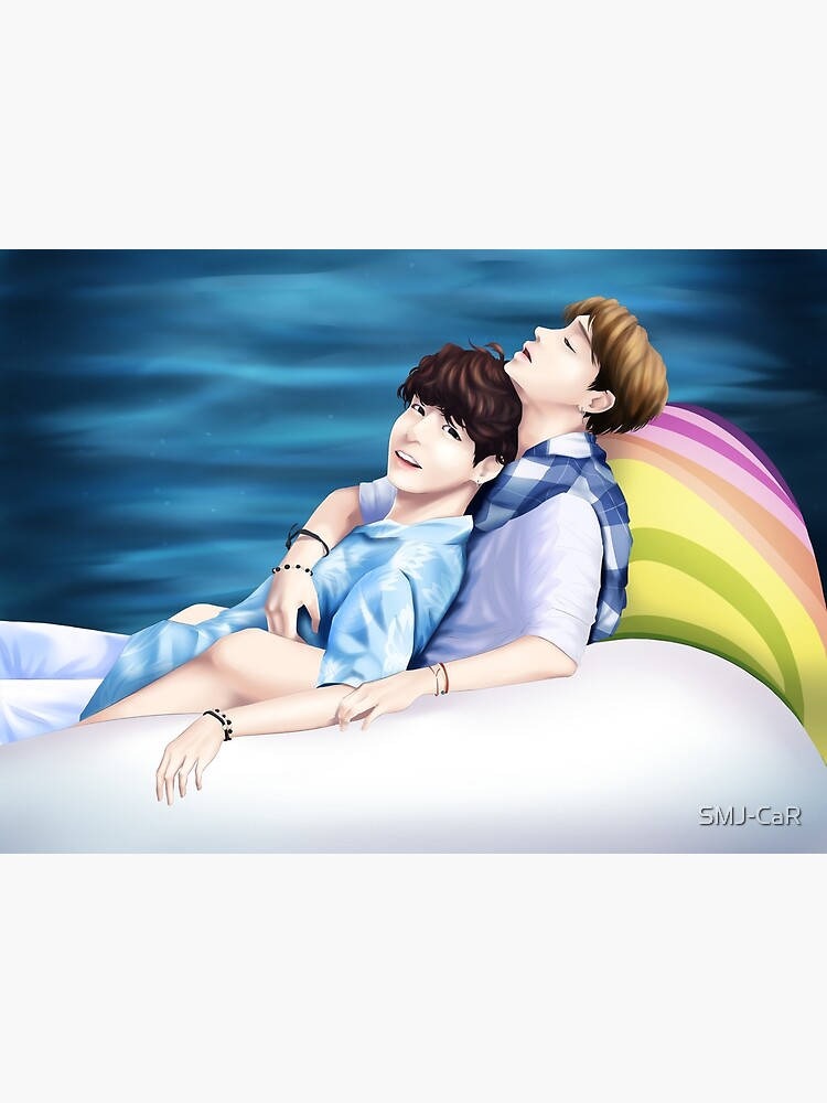 Rainbow Unicorn-BTS Jikook   Poster