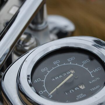 Chrome speedo by xavier