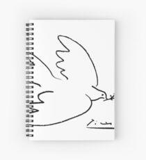 Picasso-Friedenstaube Spiralblock