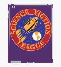 SF League Science Fiction League Sci Fi Fans retro pulp shirt iPad Case/Skin