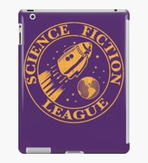 sci fi league cute retro Science Fiction League shirt iPad Case/Skin
