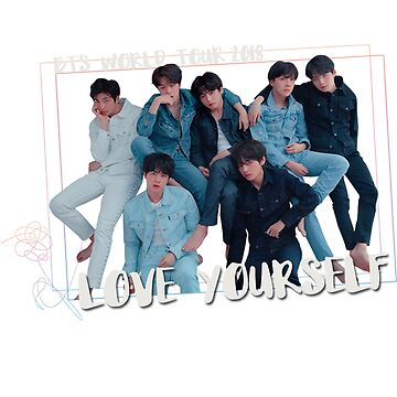 "BTS WORLD TOUR 2018 ""LOVE YOURSELF"" T-Shirt by bangtanetic"