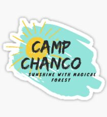 Chanco is sunshine Sticker