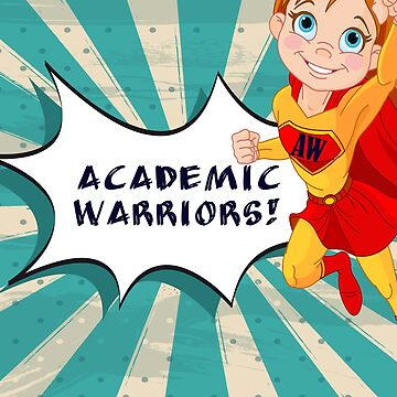 Academic Warriors logo by Emeraldkell