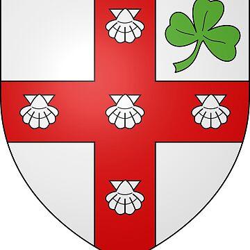Coat of Arms of Sainte-Brigitte-de-Laval  by abbeyz71
