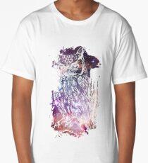 Cosmic Owl Long T-Shirt
