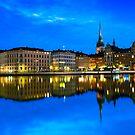 Reflections of Gamla Stan - Stockholm, Sweden by Yen Baet