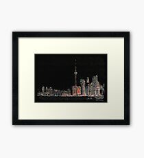 Toronto Nights Framed Print