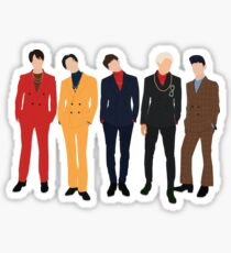 Shinee (1of1) - Group Sticker