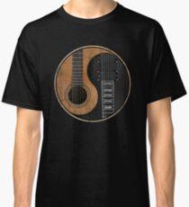 Yin Yang Guitar Classic T-Shirt