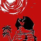 Sunshine Sentinel (Red) by Bronzarino