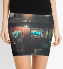 Last Night's Storm Mini Skirt