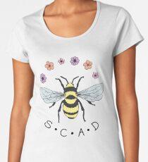 Art the Bee from Savannah College of Art and Design Women's Premium T-Shirt