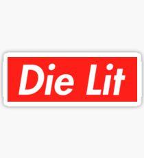 Playboi Carti: Die Lit Sticker