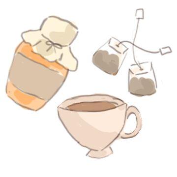 Teezeit von HaleyInk