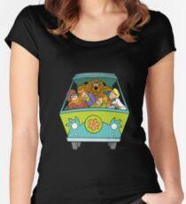 Scooby Doo! Women's Fitted Scoop T-Shirt