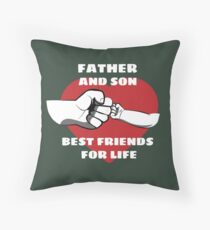 First Fathers Day Floor Pillow