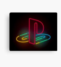 Playstation Canvas Print