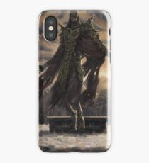 Skyrim Dragon Priest Fan Art Poster iPhone Case