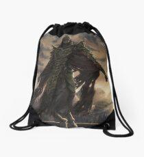 Skyrim Dragon Priest Fan Art Poster Drawstring Bag