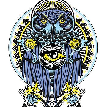 BLUE OWL by fazlicakir