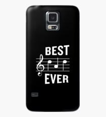 Best Dad Ever Funny Music Note Father's Gift Case/Skin for Samsung Galaxy