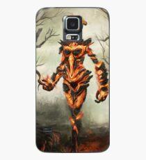 Skyrim Flame Atronach Fan Art Poster Case/Skin for Samsung Galaxy