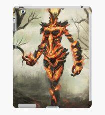 Skyrim Flame Atronach Fan Art Poster iPad Case/Skin