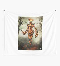 Skyrim Flame Atronach Fan Art Poster Wall Tapestry