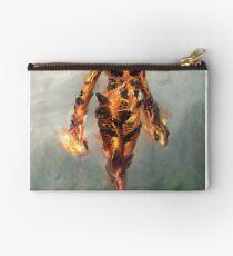 Skyrim Flame Atronach Alternative Fan Art Poster Studio Pouch