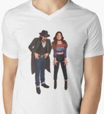 the pose V-Neck T-Shirt