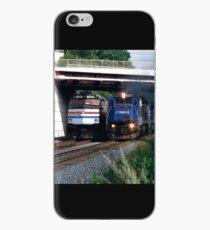 Railroad Locomotives Amtrak Conrail iPhone Case