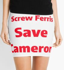 Cameron not Ferris Mini Skirt