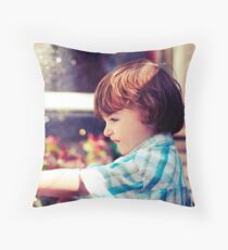 Cross Processed Throw Pillow