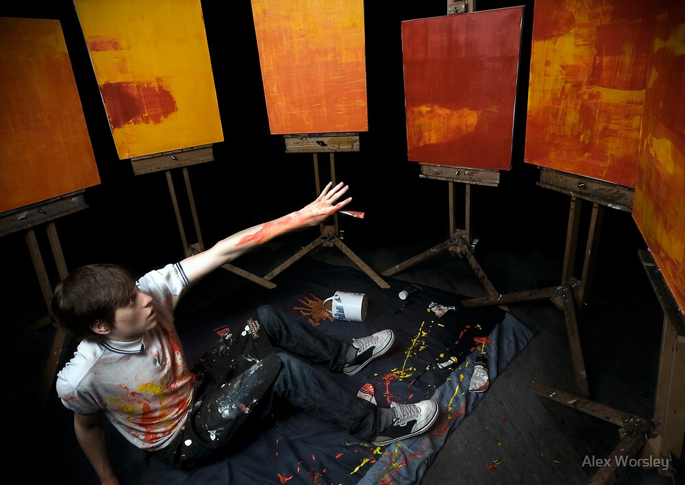 Fear of Art by Alex Worsley
