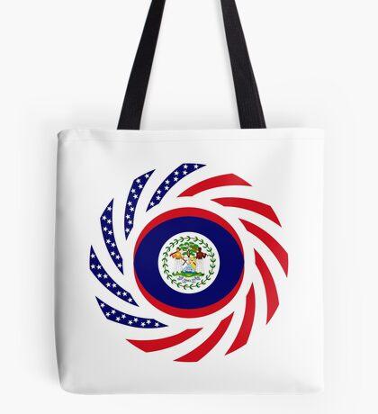 Belizean American Multinational Patriot Flag Series Tote Bag