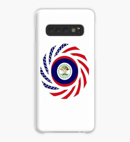 Belizean American Multinational Patriot Flag Series Case/Skin for Samsung Galaxy