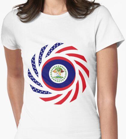 Belizean American Multinational Patriot Flag Series T-Shirt