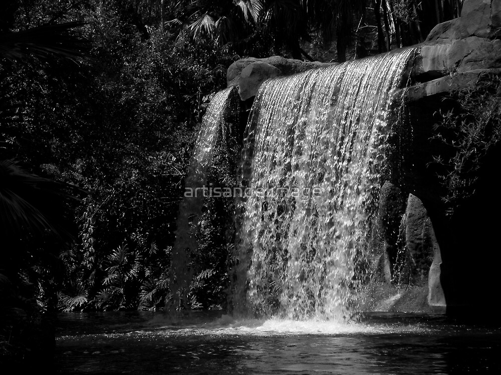 And Water Falls by artisandelimage